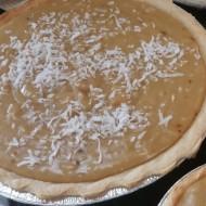 Coconut Cream Pie 9″